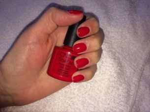 Shellac Wildfire Red